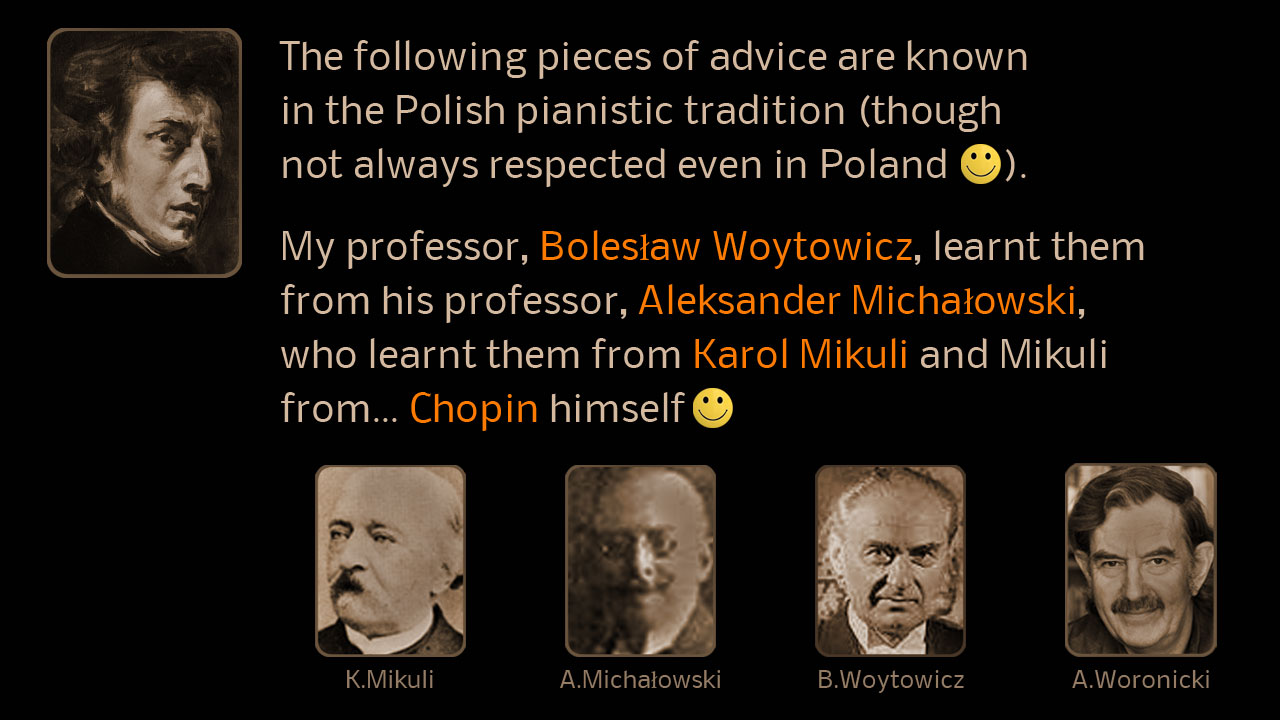 Polish Pianistic Tradition